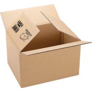 Caja De Embalar Anonima 500x400x400 Sencilla 3 Mm. Marron