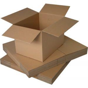 Caja De Embalar Anonima 500x350x350 Doble 8 Mm. Marron