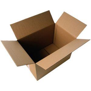 Caja De Embalar Anonima 217x172x110 Automontable Sencilla 3 Mm. Marron