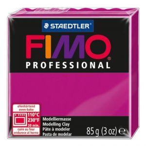 Pasta Modelar Fimo Professional Magenta Solido 85 Gr.