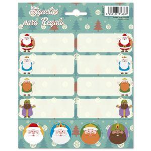 Etiquetas Navidad Erik Reyes Y Santa Pinitos