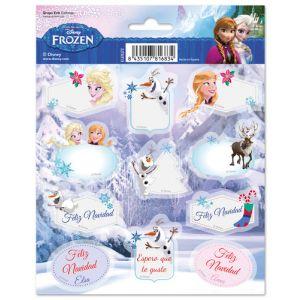 Etiquetas Navidad Erik Frozen