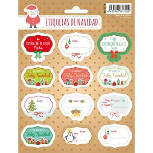 Etiquetas Navidad Erik Mensajitos