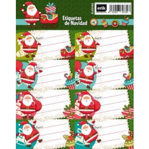 Etiquetas Navidad Erik Noel