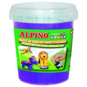Pasta Modelar Alpino Magic Dough 160 Gr. Violeta