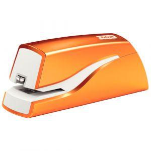 Grapadora Petrus Wow Electrica E-310 Naranja Metalizado