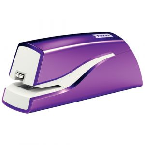 Grapadora Petrus Wow Electrica E-310 Violeta Metalizado