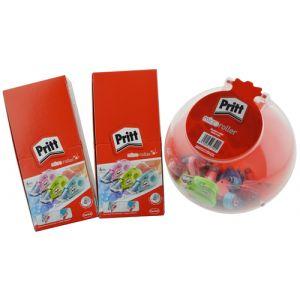 Corrector Cinta Pritt Micro Rolli 5 Mm X 6 M Expositor De 60 (45+15 S/C)