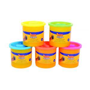 Plastilina Blandiver 110 Gramos Naranja Fluor