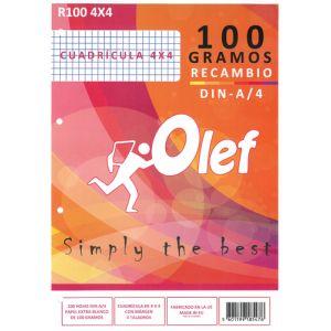 Recambio Olef A4 100h 100gr 4 Taladros Cuadric.4x4