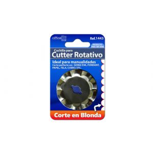 Recambio Cutter Office Box Rotativo Corte En Blonda