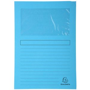 Subcarpeta Exacompta Forever Ventana 120g A4 Azul Claro