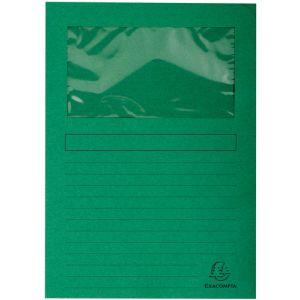 Subcarpeta Exacompta Forever Ventana 120g A4 Verde Claro