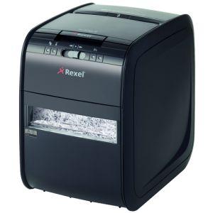 Destructora Rexel Auto+  60x (5/60h Partic.) Nv.Seg.3 - Particula 4x45mm; Dep.15l Alimentador Automático De 60h