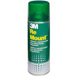 Pegamento En Spray 3m 400ml Mount Removible Indefinidamente (Bote Verde)