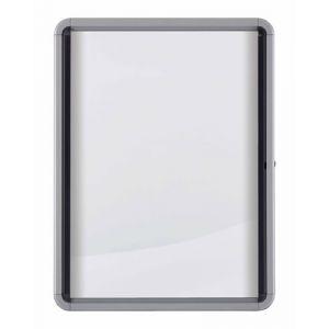 Vitrina Nobo De Interior Blanca Magnetica Para  4 Hojas A4