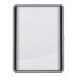Vitrina Nobo De Interior Blanca Magnetica Para  9 Hojas A4