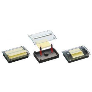 Dispensador Post-It Dual Millenium + Taco Notas Post-It R350 Amarillo