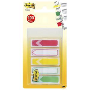 Banderitas Adhesivas Post-It 684 Flecha 5x20 Pack De 5