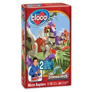 BLOCO MICRO RAPTOR 64 PIEZAS