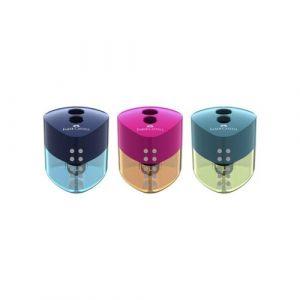 Exp 12 afilalapices doble con deposito grip 2001 colores surtidos