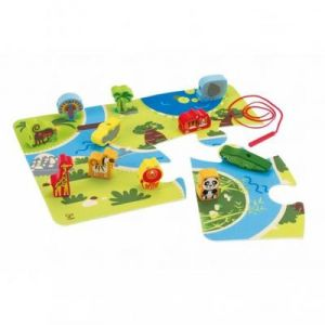 JUEGO INFANTIL SAFARI MADERA HAPE ( ON SAFARI PLAY SET )