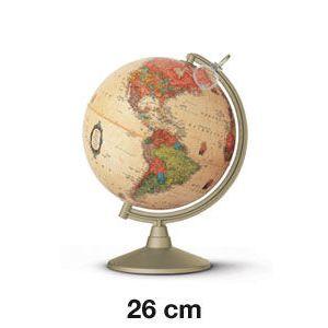 Esfera colegial marco polo con luz y lupa 26 cm
