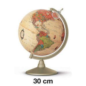 Esfera colegial marco polo con luz y lupa 30 cm