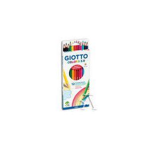 ESTUCHE 12 LAPICES COLORES GIOTTO COLORS 3.0 ACQUARELL