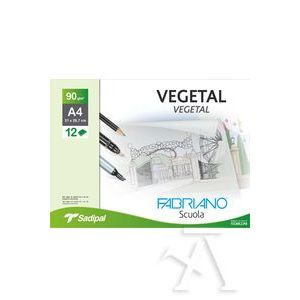 Minipack 12 hojas papel vegetal a3 90g. fabriano