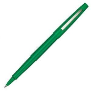 C/12 rotulador paper mate flair original color verde