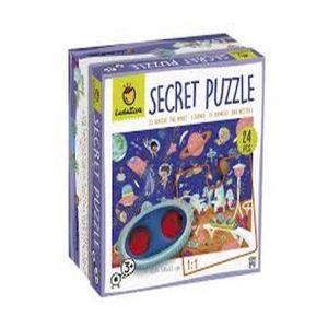 PUZZLE SECRETO ESPACIO 24 PCS