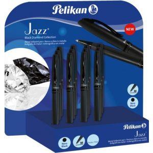 Exp 12 boligrafo jazz black diamond color negro