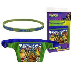 Set regalo bolsa bandolera y billetera tortugas ninja