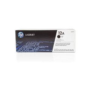 TONER LASER ORIGINAL HP 12A NEGRO Q2612A