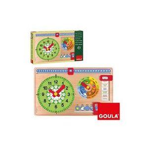 Juego educativo reloj calendario