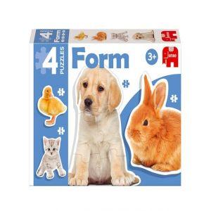 PUZZLE FORM PHOTO ANIMALES