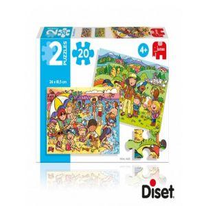 PUZZLE 2X20 PLAYA Y EXCURSION