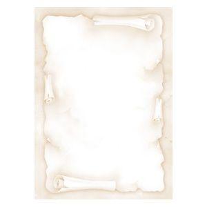 P/20 hojas papel pergamino color blanco A4 90g DecaDry Apli