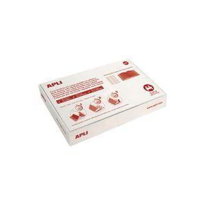 C/100 forro libros ajustable 30x53cm pvc apli
