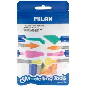 Blister de herramientas de modelado milan
