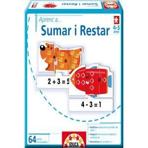 Juego aprenc a sumar i restar - cat