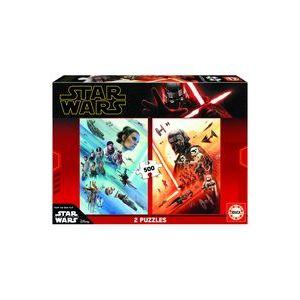 Puzzle 2 x 500 star wars episodio ix