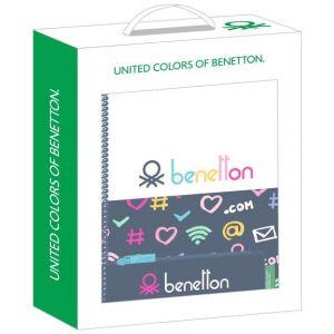 Set Regalo Pequeño BENETTON DOT COM 28x35x6cm
