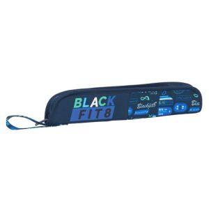 PORTAFLAUTAS RECICLABLE BLACKFIT8 LOGOS RETRO 37x8x2cm