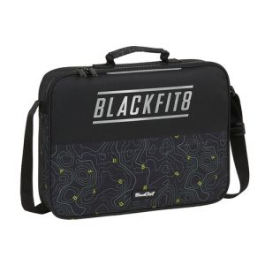 CARTERA EXTRAESCOLARES RECICLABLE BLACKFIT8 TOPOGRAPHY 38x28x6cm