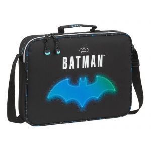 CARTERA EXTRAESCOLARES BATMAN BAT-TECH 38x28x6cm