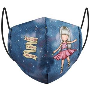 Mascarilla 10/12 años dancing among the stars gorjuss