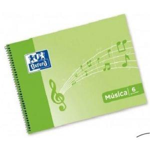 BLOC MUSICA 4º APAISADO 20H. 6 PENTAGRAMAS 3MM OXFORD