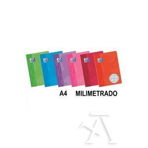 Paq/10 libretas a4 48h 90g. milimetrado c/m colores surtidos oxford classic